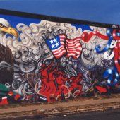 lady pink 9/11 mural