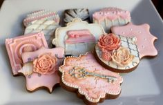 More beautiful, girly cookies from Arty McGoo