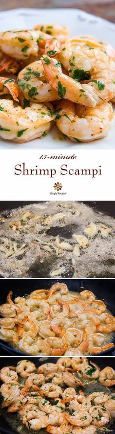 PTR Shrimp Scampi - Great and easy recipe. Can add a little heavy cream and serve with egg noodles. Husband approved.