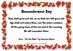 remembrance Sunday poem There may be thousands of memorial offerings across the u ., with the British Legion marking Remembrance Day Remembrance Day Usa, Remembrance Day Pictures, Remembrance Day Activities, Veterans Day Poem, Gifts For Veterans, Anzac Day Australia, Craft Free, Business For Kids, Memorial Day