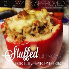Stuffed Bell Pepper-21 Day Fix Approved