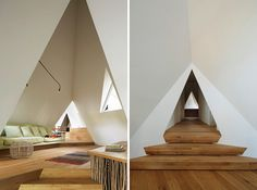 NAP architects places nasu tee-pee residence in the japanese woodland