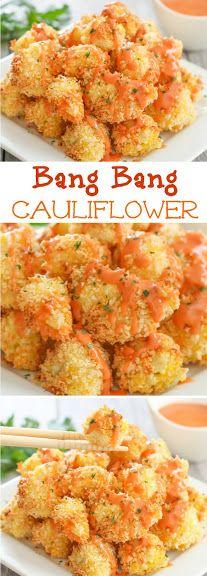 Bang Bang Cauliflower. This sauce is addicting and easy!