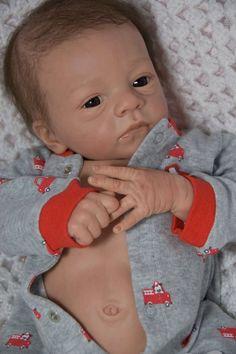 ☆Reborn Doll Baby Boy Romeo by Natali Blick ☆ Side Glancing Eyes ~Delta Dawn |