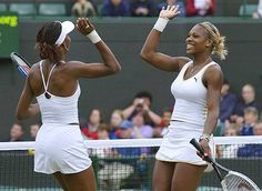 Venus and Serena Williams Tennis Players