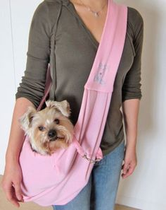 Alfie Couture Designer Pet Accessory - Chico Reversible Pet Sling Carrier