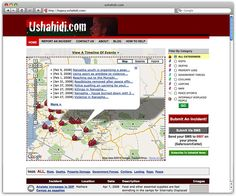 Ushahidi is a non-profit tech company that specializes in developing free and open source software for information collection, visualization and interactive mapping.
