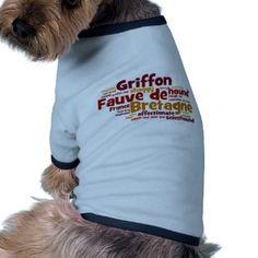 Griffon Fauve de Bretagne Doggie Tshirt