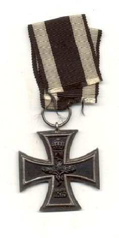 World War 1 German Iron Cross Medal by TheMilitarizedZone on Etsy, $199.99