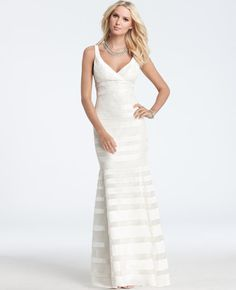 Silk Georgette Mermaid Wedding Gown