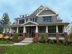 Gentil Dark Exterior Trim Design Ideas, Pictures, Remodel And Decor. Exterior Color  Combos: If We Left The Brick Red
