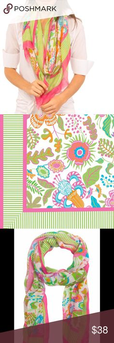 Gretchen Scott isabelles garden summer scarf Brand new with tags! Going for $59 online right now. Absolutely gorgeous and 100% modal. Add a pop of color to your outfit with this gorgeous scarf! Gretchen Scott Accessories Scarves & Wraps