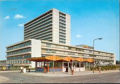 Postcard, holland, 60s  Heerlen - de wever ziekenhuis by    This is the hospital where I gave birth to my daughter, Jennifer.  Wow! ~~Bev