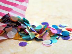 DIY Your Own Confetti – LaurenDLoves Confetti Ideas, Wedding Day, Flowers, Diy, Pi Day Wedding, Bricolage, Marriage Anniversary, Do It Yourself, Royal Icing Flowers