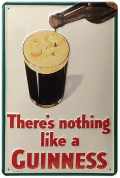 "Nothing Like a Guinness - Smiling Pint Wall Art 19x13"" (http://www.mullysirishimports.com/nothing-like-a-guinness-smiling-pint-wall-art/)"