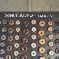 I was asked to create another donut wall for the annual Holman