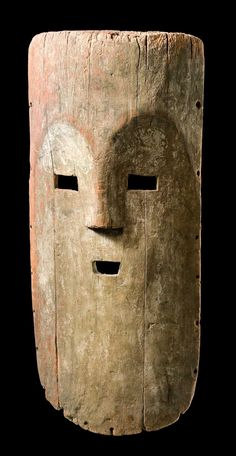"Africa | Mask ""nzebi"" from the Fang people of Gabon 