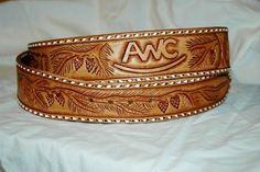 Custom Made Custom Made Leather Belt
