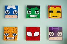 superhero nursery wall art this will be my kids room Boy Wall Art, Nursery Wall Art, Nursery Ideas, Room Ideas, Mini Toile, Superhero Wall Art, Deco Kids, Project Nursery, Baby Boy Nurseries