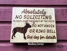 Funny soliciting sign, Pitbull sign, No soliciting see dog for details, No Soliciting sign, Do not knock sign, Front door sign, Dog sign