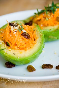 Carrot and Avocado Salad