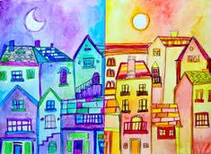 Image result for warm and cold colours art lesson