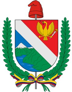 The Coat of arms of Tolima is the coat of arms of the Colombian Department of Tolima. The emblem was adopted by Law of December 7, 1815 ordained by the United Chambers of the Mariquita Province and sanctioned by José León Armero, the governor and general in command. In 1861 the coat of arms was adopted for the Sovereign State of Tolima by Decree of April 12 of the same year by General Tomas Cipriano de Mosquera and officially established on September 7
