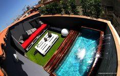 Enséñanos tu casa: la pequeña pero impresionante terraza de Edgar                                                                                                                                                                                 Más