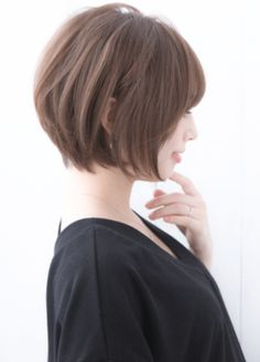 Asian Short Hair, Asian Hair, Short Hair Cuts, Tomboy Hairstyles, Bob Hairstyles, Haircuts For Medium Length Hair, Belle Hairstyle, Shot Hair Styles, Hair Arrange