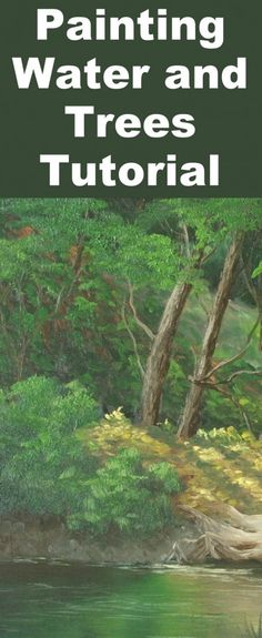 How to Paint Peaceful Stream in Oils — Online Art Lessons