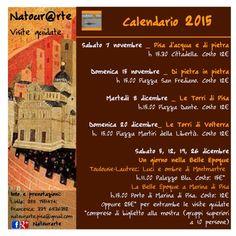 Visite guidate NATOURARTE  Novembre - dicembre 2015