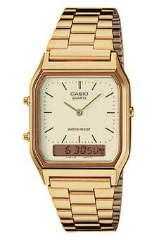 Casio - AQ-230GA-9DMQYES - Uhr - goldfarben