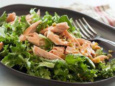 Avocado Salmon Salad with Kale   Whole Foods Recipe   http://www.wholefoodsmarket.com/recipe/3474