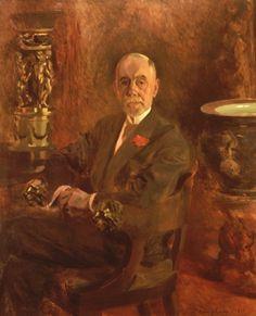 Columbano Bordalo Pinheiro, Teixeira Gomes (1925, Museu da Presidência da República)