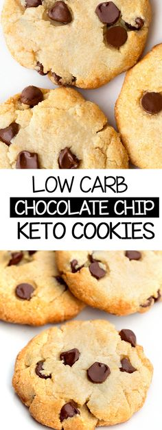 Homemade chocolate chip keto cookies #sugarfree #keto #ketorecipes #ketocookies #ketodesserts #ketoideas #homemade Low Carb Chocolate Chip Cookie Recipe, Sugar Free Cookie Recipes, Homemade Chocolate Chips, Sugar Free Chocolate Chips, Sugar Free Desserts, Healthy Chocolate, Low Carb Desserts, Chocolate Recipes, Dessert Recipes