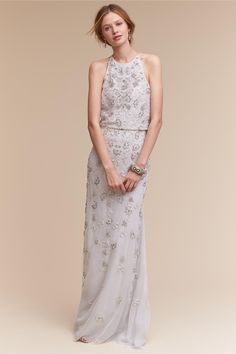 95d664e678bd BHLDN Starling Gown in Bride SS17 Trends High Neck