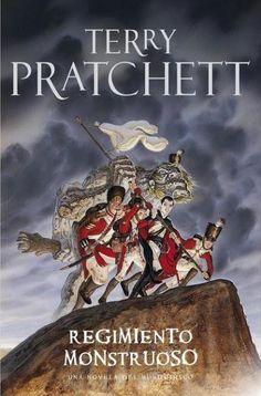 Portada de Regimiento Monstruoso (Mundodisco 31), de Terry Pratchett