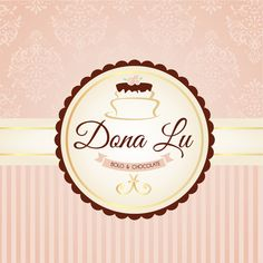 Logo Doce, Bakery Business Cards, Cake Logo Design, Bakery Logo, Diy Box, Projects To Try, Arts And Crafts, Clip Art, Branding