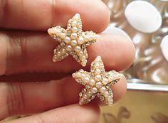 Star Fish Pearl Fashion Earrings | LilyFair Jewelry