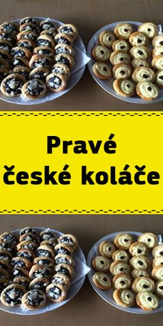 Pravé české koláče Cereal, Cheesecake, Chicken, Cooking, Breakfast, Kitchen, Morning Coffee, Cheesecakes, Cherry Cheesecake Shooters