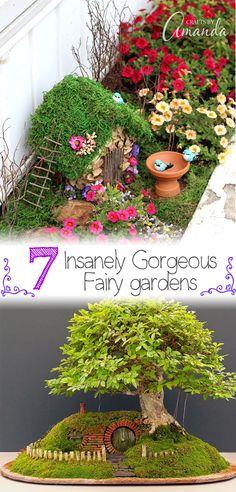7 Insanely Gorgeous Fairy Gardens