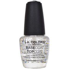 A base coat and top coat all in one. As a base coat, it protects your nails from staining and provides a proper surface for nail polish application. As a top coat, it gives your nails a high-gloss shi