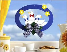 Márton-nap :: Óvoda Margarita, Tweety, Decorative Plates, Felt, Fictional Characters, Decoration, Spring, Hens, Ducks