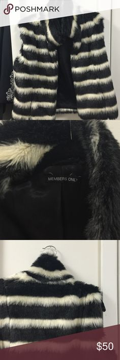 Fur vest Consignment find at thrift store in LA. Great condition Members Only Jackets & Coats Vests
