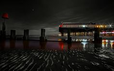 9 Cleethorpes Pier at Night taken by Bob Riach