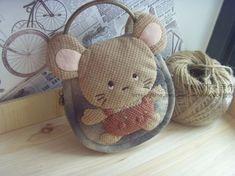 Cute mouse key holder_Korean_tutorial