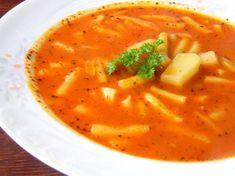Thai Red Curry, Food And Drink, Soup, Baking, Ethnic Recipes, Hungarian Recipes, Bakken, Soups, Backen