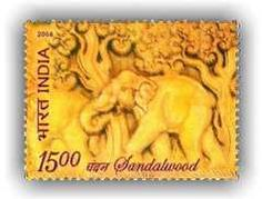 India's sandalwood-scented stamp