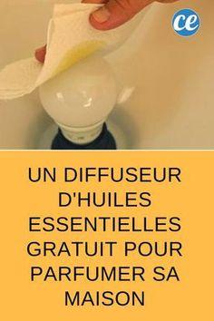 Un Diffuseur d'Huiles Essentielles Gratuit Pour Parfumer Sa Maison.
