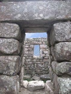 Windows onto the world - Macchu Picchu, Peru; Book Peru with Travel Expert Briana Thiodet: briana.t@travelstore.com